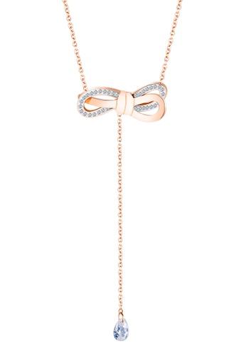 Trendyshop gold Lady's Bow Necklace 81732ACAEDBDC2GS_1