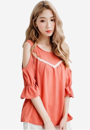 Sesura orange Dearest Look Femme Top DCDF3AADEE43B2GS_1