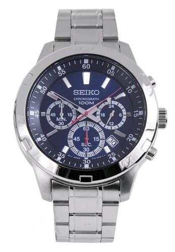 SEIKO silver Jam Tangan Pria Seiko Chronograph SKS603P1 Strap Stainless  Steel Silver 480F6ACE2D20BFGS 1 28e63828c9