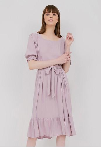 madeleine lilac purple CHELSEA DRESS LILAC EFB49AAC4B9EF5GS_1