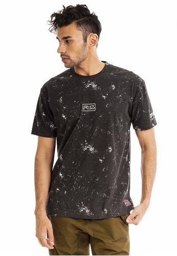 RYZ black RYZ Limited Edition CITY OF ROSES OG Black Short Sleeve T-Shirt. 414D2AA4979A90GS_1