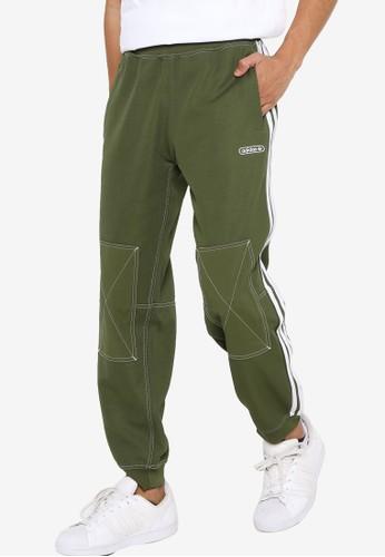 ADIDAS green sprt track pants DB712AA07BD073GS_1