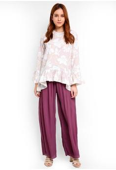 Qasaya Orchid Blouse RM 143.00. Sizes S M L XL XXL · Qasaya purple Orchid  Blouse 72CD7AACE66FE6GS 1 1b80a4b1e00