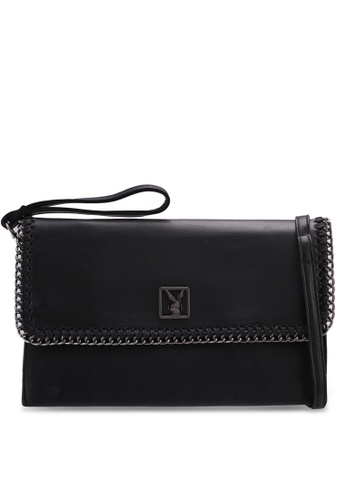 Playboy black Playboy Clutch/Sling Bag D2117ACF86F5F2GS_1