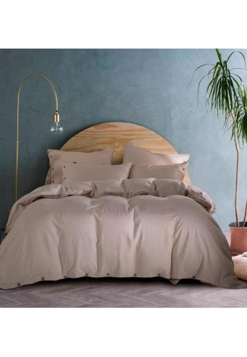 HOOGA Hooga Quilt Cover Set Hayward White 33AEAHL4689EB7GS_1