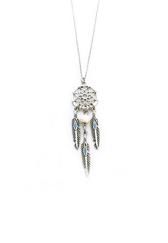 Shop Trinkets For Keeps Dream Catcher Necklace Online On ZALORA Custom Dream Catcher Necklace Philippines