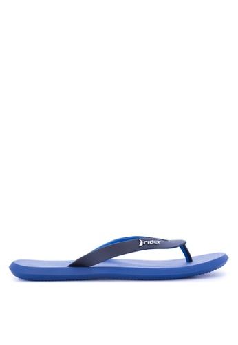 Rider blue R1 Ad Flip Flops RI584SH0JXIHPH_1
