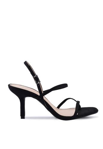 Nose black Strappy High Heel Sandals 66A03SHCF93633GS_1