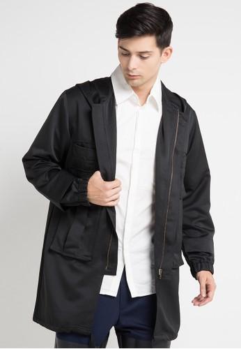 (X) S.M.L black Vartan Jacket XS330AA0WEAAID_1