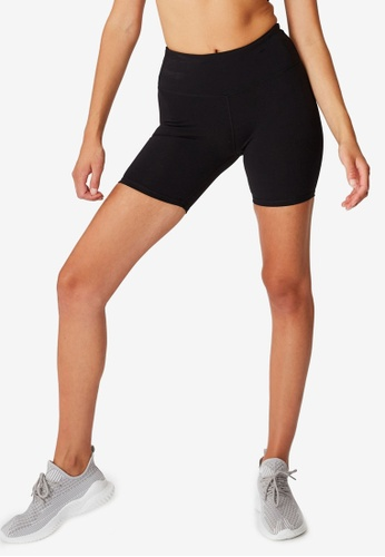 Cotton On Body black Active Core Bike Shorts D586AAAA41AB53GS_1