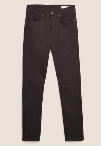 MARKS & SPENCER grey M&S Slim Fit Super Stretch Performance Jeans A3ED2AAF4C70D5GS_1