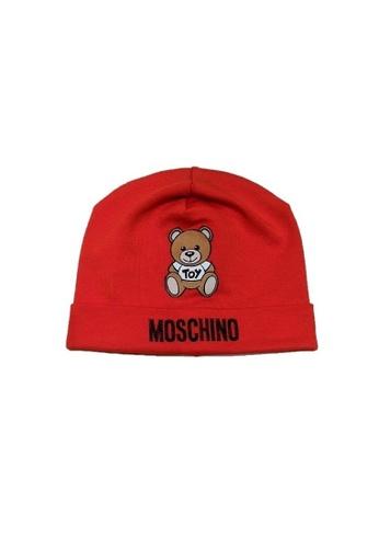 MOSCHINO BABY KID TEEN red MOSCHINO BABY HAT A0025KCBA134F4GS_1
