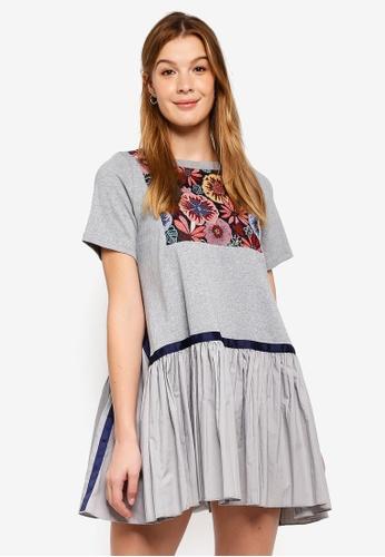 Haute Kelly grey Min Jee Dress 56904AAAF5C4CEGS_1