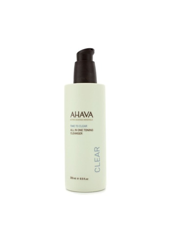 Ahava AHAVA - Time To Clear All In One Toning Cleanser 250ml/8.5oz 4DDC1BE3F1E779GS_1