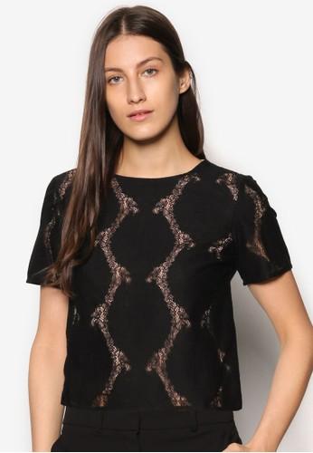 Premium 印花短袖T-shirt、 服飾、 上衣ZALORAPremium印花短袖上衣最新折價