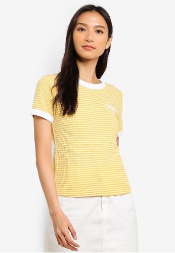 f7a4b681b419 Buy Hollister Short Sleeve Crop T-Shirt Online on ZALORA Singapore