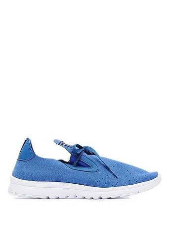 Life8 藍色 MIT。可水洗。輕量。質感超纖。沖孔樂福休閒鞋-09505-藍色 LI216SH79WBCTW_1
