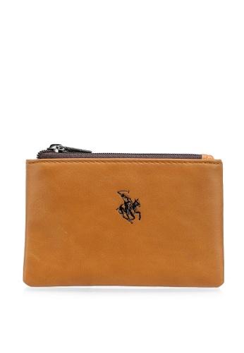 Swiss Polo brown Casual RFID Pouch 7CAE8AC2D8E940GS_1