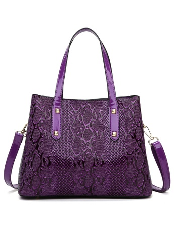 Twenty Eight Shoes Stylish Faux Leather Tote Bag DP6093 D4A7AAC576965EGS_1