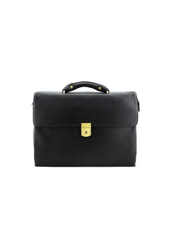 EXTREME black Extreme Leather Briefcase (13inch Laptop) EA672AC82A4F80GS_1