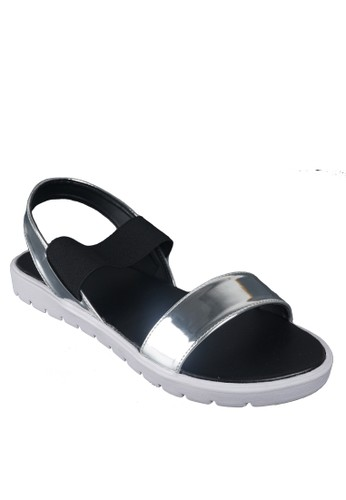 Beauty Shoes Mile Beauty Sandal Silver