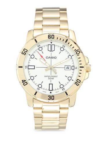 aa1ae7f45d7 Shop Casio Casio MTP-VD01G-9EVUDF Watch Online on ZALORA Philippines
