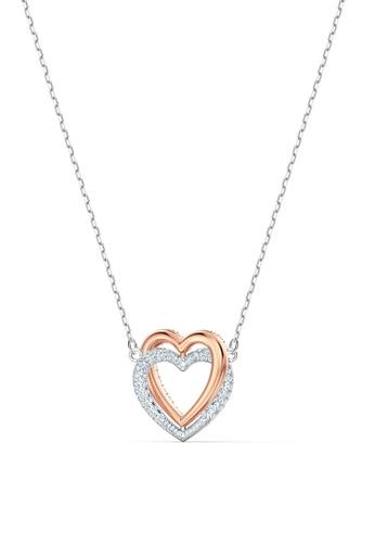 Swarovski white Swarovski Infinity Heart Necklace B97B9ACBDDF4BFGS_1