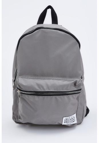 DeFacto grey Backpack 11ECBACAEA36E4GS_1
