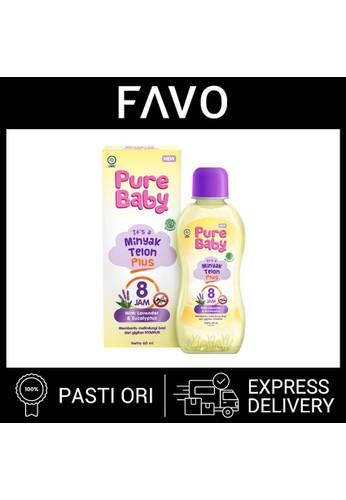 Pure Baby Minyak Telon - Pure Baby Minyak Telon Plus  - 60  mL C61D4ES71EE10AGS_1