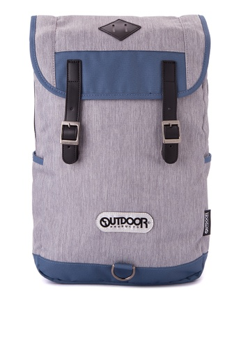 Outdoor Products grey Valley Backpack OU226AC0JY96PH_1