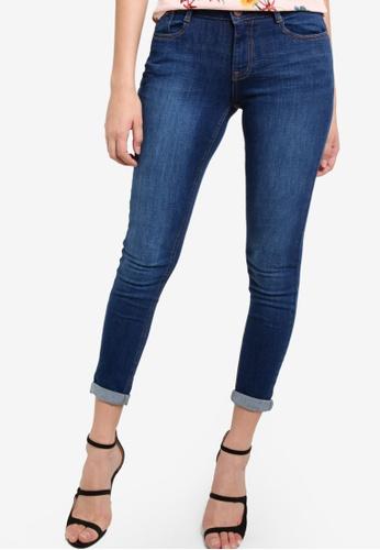 Dorothy Perkins blue Indigo Harper Jeans DO816AA76TXNMY_1