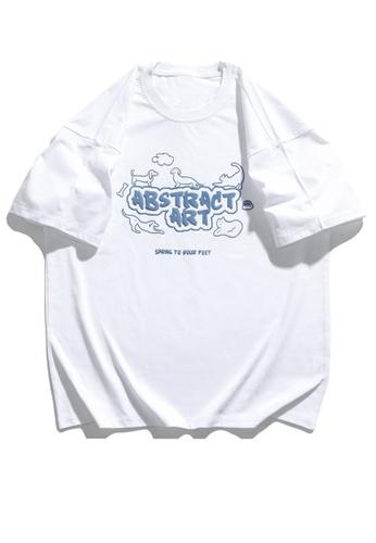 Twenty Eight Shoes Pet Theme Foamed Printed Short T-shirt HH1044 6E0D9AA3F40611GS_1