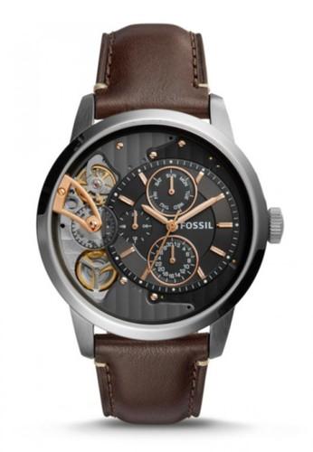 Fossil  TOWNSMAN都會男錶 ME1163, 錶類,esprit outlet 台灣 紳士錶