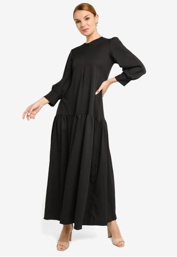 REALFANTASY black Inaya Dress Black 9FE61AAB2D017EGS_1