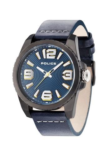 Police blue Jam Tangan Pria Police PL14761JSU/03 8DDF0AC183C205GS_1