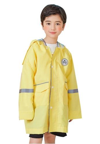 Twenty Eight Shoes yellow VANSA  Stylish Soild colour Raincoat VCK-R17673 317C9KA65A1C62GS_1