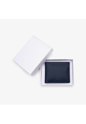 Lacoste Lacoste Men's Chantaco Piqué Leather 8 Card Holder And Wallet-NH2825CE 60A84ACCC88E7DGS_1