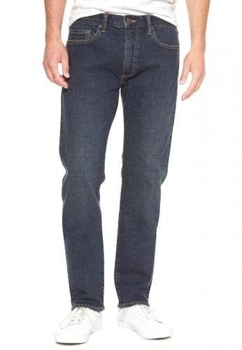 GAP navy Slim Fit Jeans DE66CAAB6DA4C3GS_1