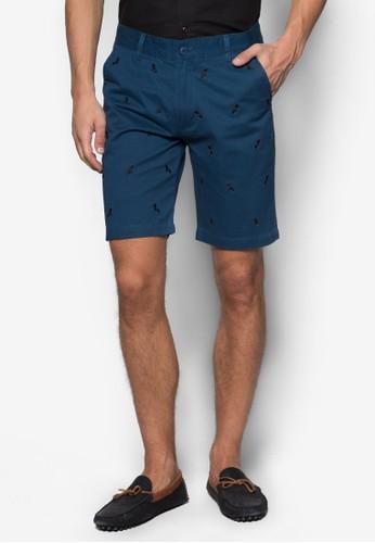 刺繡圖案短褲, 服飾, 短esprit台灣褲