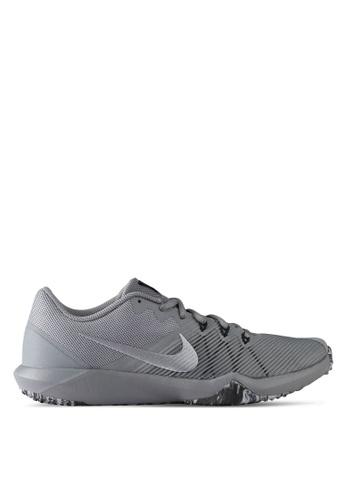 Nike black and grey Men's Nike Retaliation TR Training Shoes NI126SH0STSXMY_1