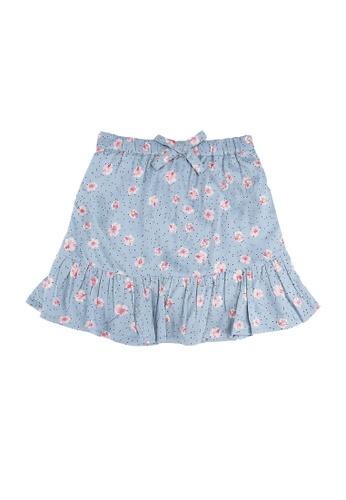 ONLY blue Konclaudia Skirt A0E45KACFC0BFBGS_1
