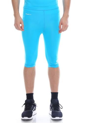 Jual Tiento Tiento Man Compression Half Pants Turkis Celana Legging Leging Selutut Pria Olahraga Original Original Zalora Indonesia