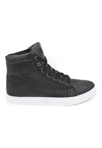 midzone black High Cut Fashion Sneaker MI949SH96CIXMY_1