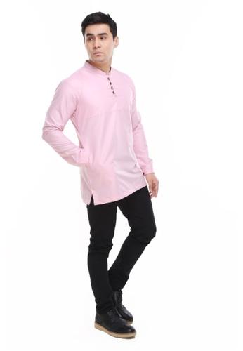 Amar Amran pink Kurta Rayqal 07E10AA9BDC271GS_1