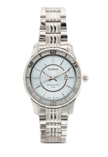 三指針不銹鋼圓錶esprit taiwan, 錶類, 飾品配件