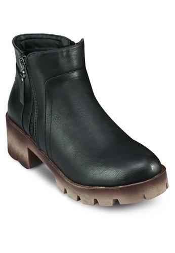 雙拉鍊兩踝靴, 女esprit分店鞋, 靴子