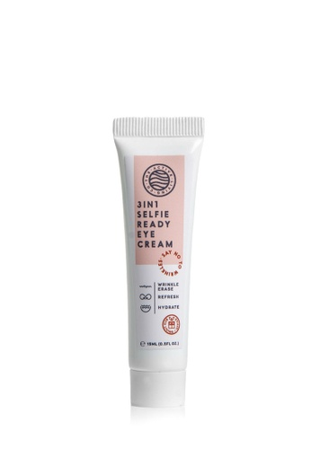 The Active Living Co white 3-in-1 Selfie Ready Eye Cream 09334BE5CCC6FFGS_1