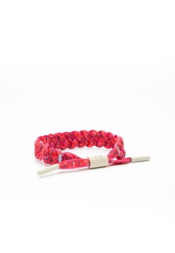 Rastaclat pink Rastaclat Braided Shoelace Bracelet - Shitake RA286AC85UCGHK_1