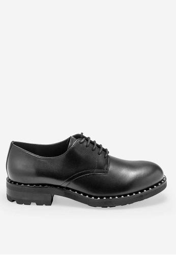 ASH black Whisper - Black Rivets embroidery Low Heels 42F13SH8433213GS_1