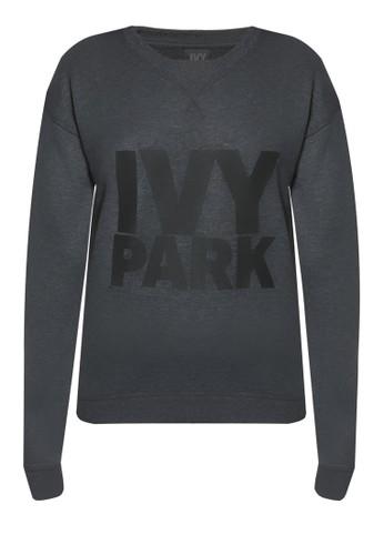品牌標誌運動長袖衫zalora退貨, 服飾, 服飾